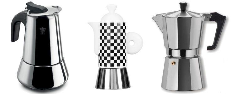 Дизайн гейзерных кофеварок