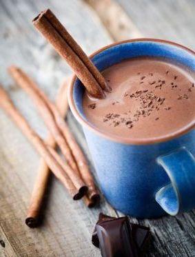 кофе с какао и корицей