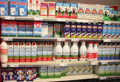 марки молока