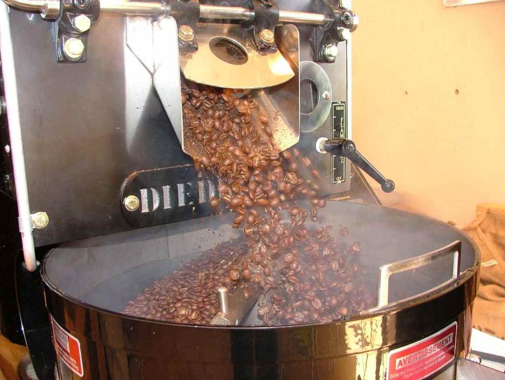 Промышленный родстер для обжаривания кофе