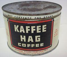 Kaffee HAG - кофейная компания кофе без кофеина