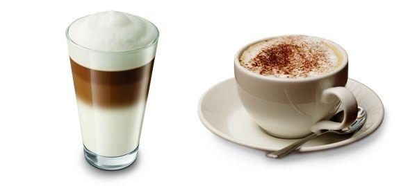 чем отличается кофе латте от капучино