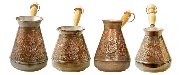 kakie byvajut turki dlja kofe