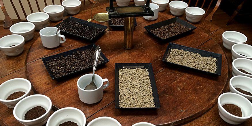 лотки для дегустации кофе