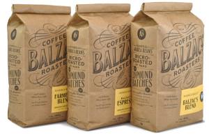 Бумажная упаковка для хранения кофе