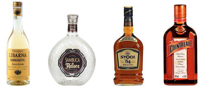 лкоголь для приготовления коррето