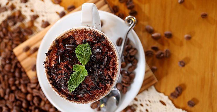 рецепт кофе с мятой