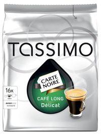 Tassimo Carte Noire Cafe Long Delicat